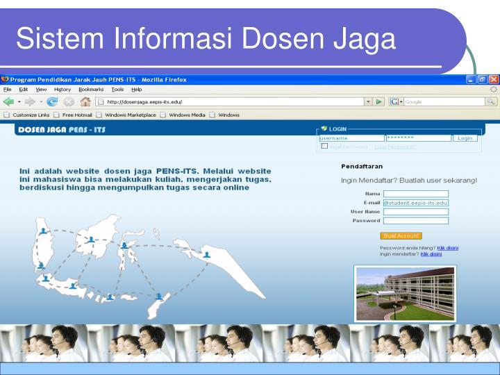 Sistem Informasi Dosen Jaga