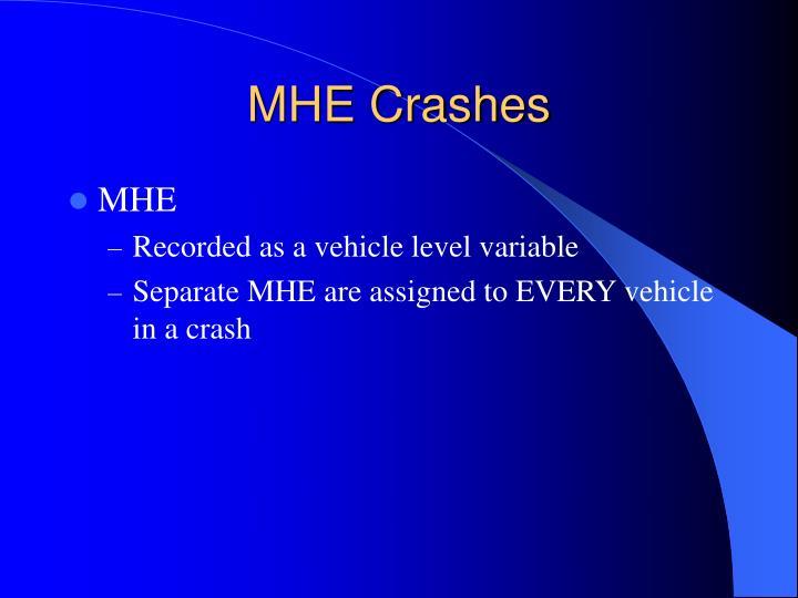 MHE Crashes