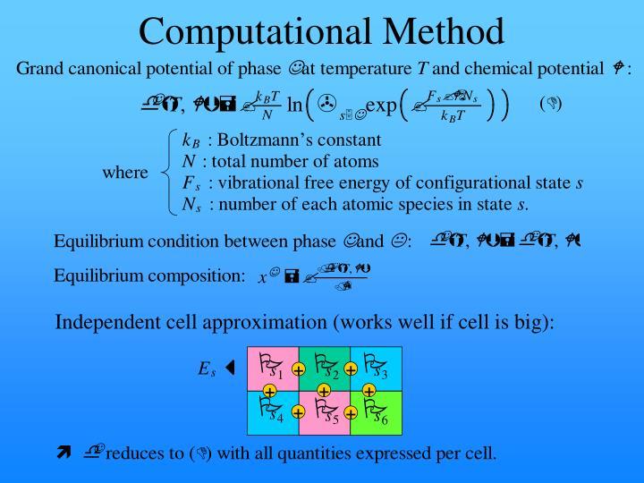 Computational Method