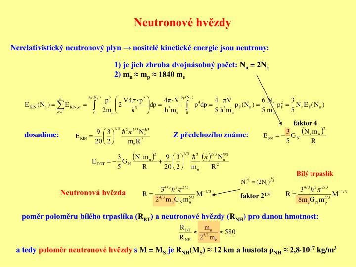 Neutronové hvězdy