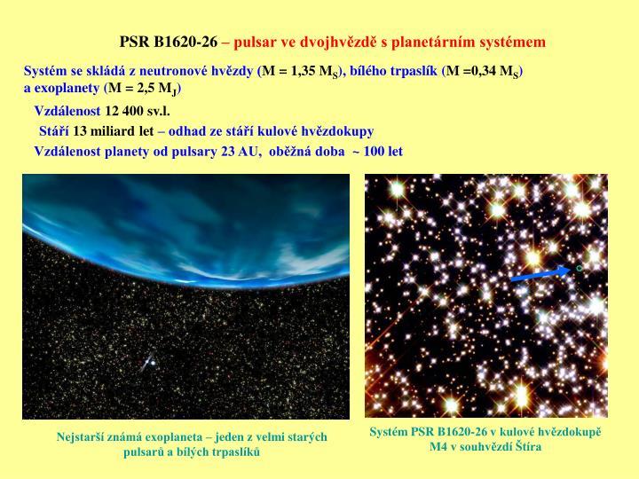 PSR B1620-26