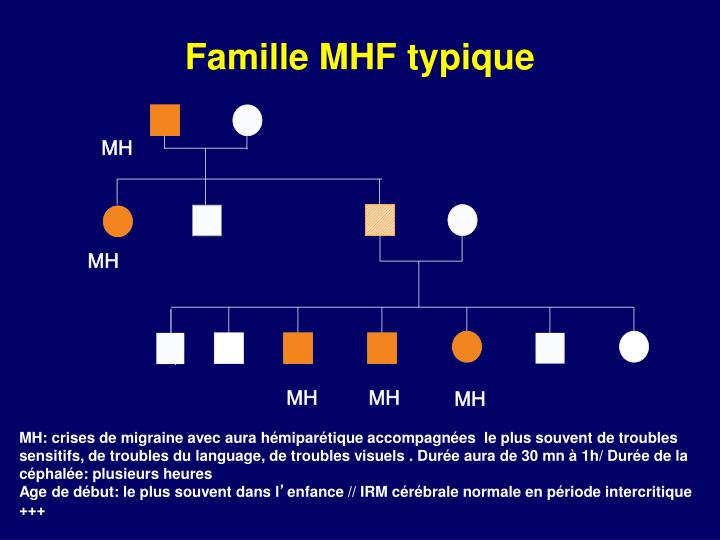 Famille mhf typique