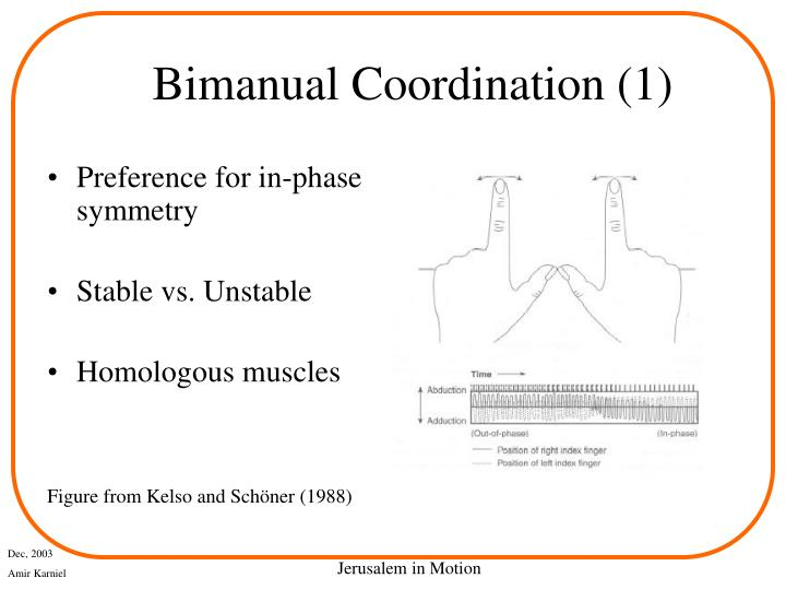 Bimanual Coordination (1)