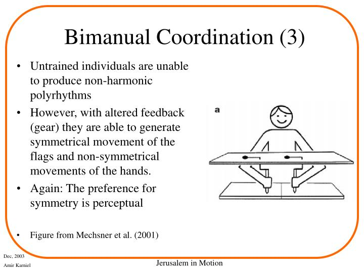 Bimanual Coordination (3)