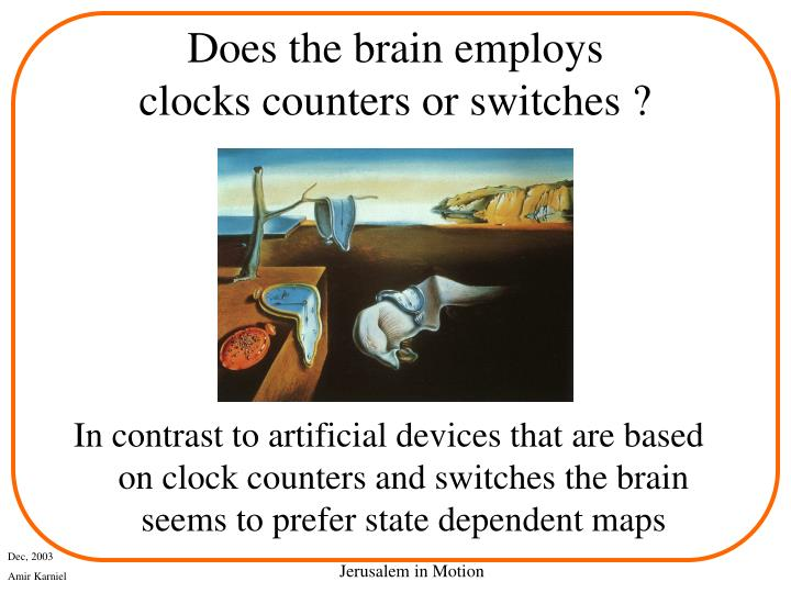 Does the brain employs