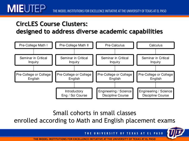 CircLES Course Clusters: