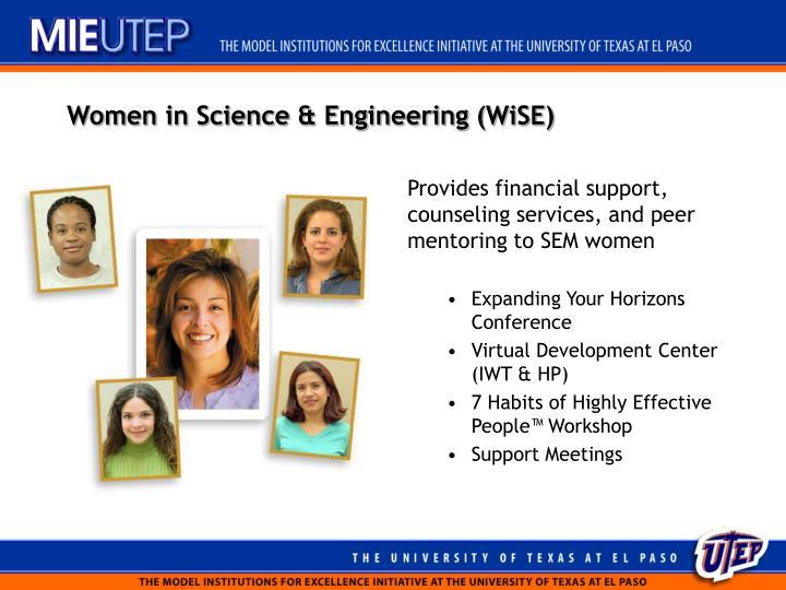 Women in Science & Engineering (WiSE)