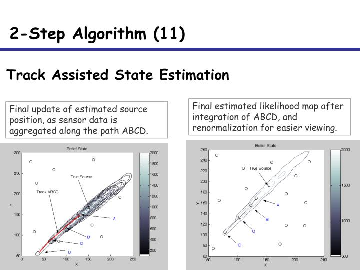 Track Assisted State Estimation