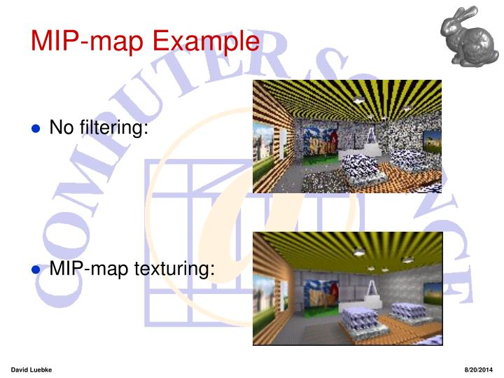 MIP-map Example