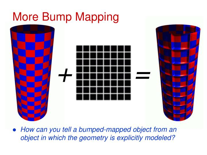 More Bump Mapping