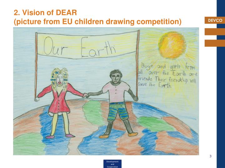 2 vision of dear picture from eu children drawing competition