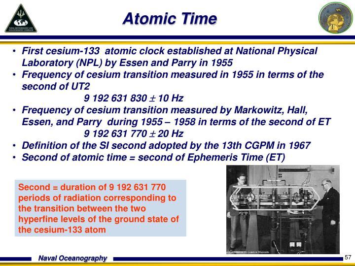 Atomic Time
