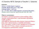 a chandra hetg sample of seyfert 1 galaxies1