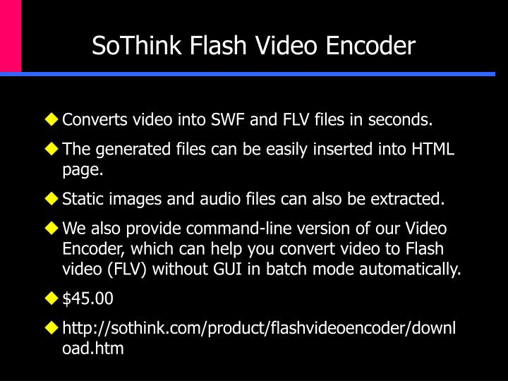 SoThink Flash Video Encoder