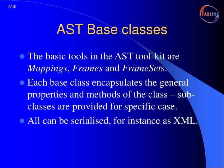 AST Base classes