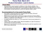 theme week march 2011 product information lawn garden