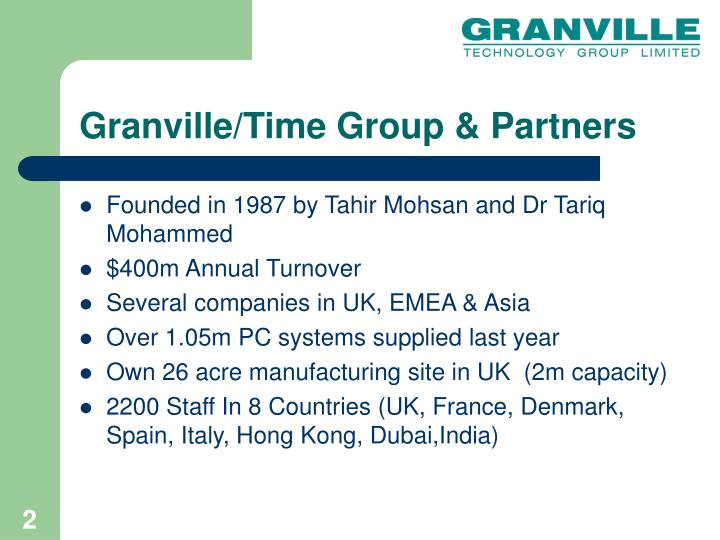 Granville time group partners