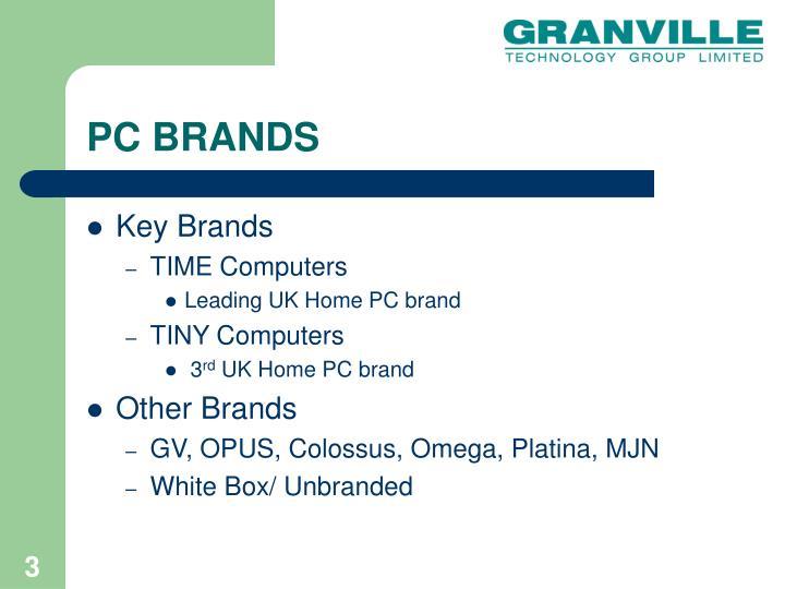 Pc brands