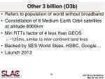 other 3 billion o3b