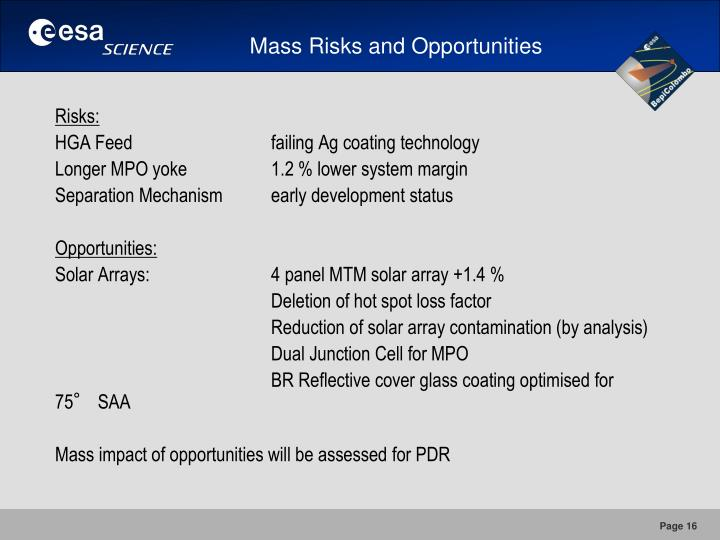 Mass Risks and Opportunities