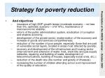 strategy for poverty reduction1