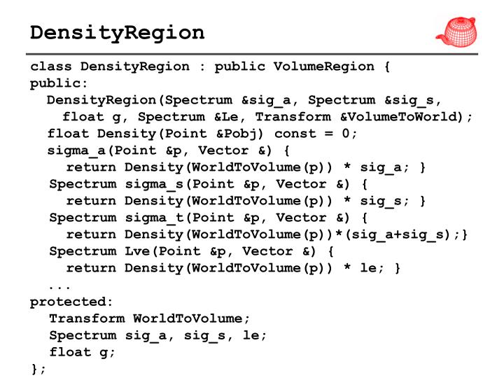 DensityRegion