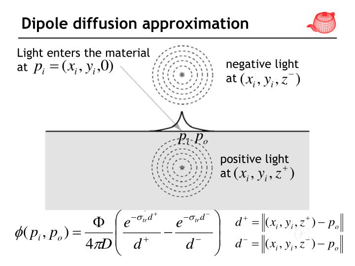 Dipole diffusion approximation
