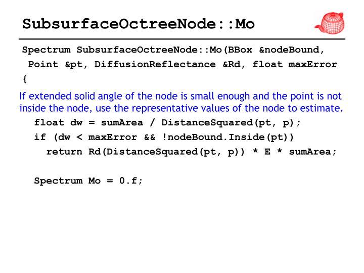 SubsurfaceOctreeNode::Mo