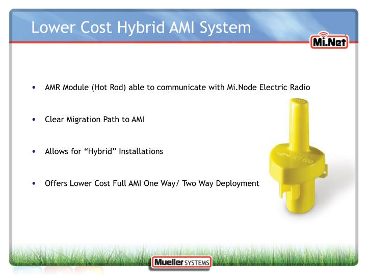 AMR Module (Hot Rod) able to communicate with Mi.Node Electric Radio