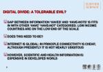 digital divide a tolerable evil