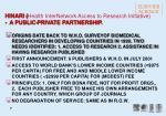 hinari health internetwork access to research initiative a public private partnership