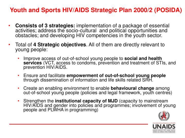 Youth and Sports HIV/AIDS Strategic Plan 2000/2 (POSIDA)