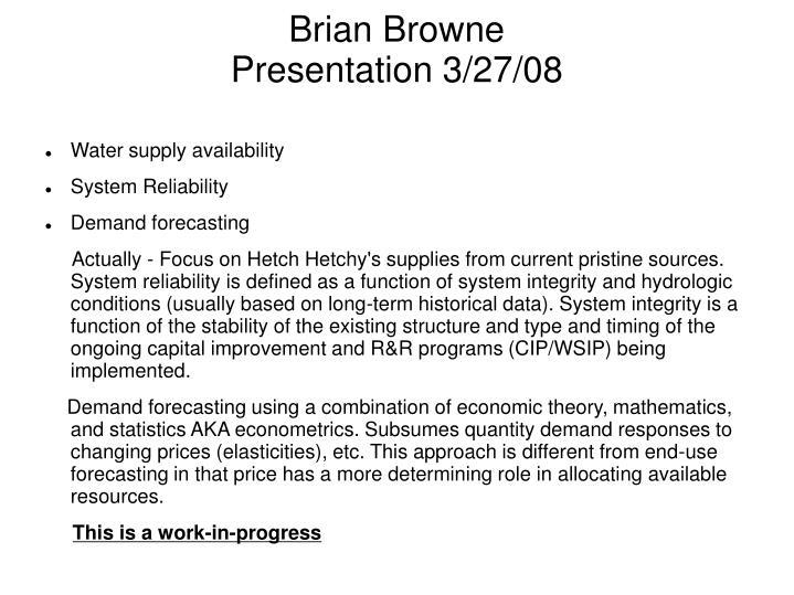 Brian Browne