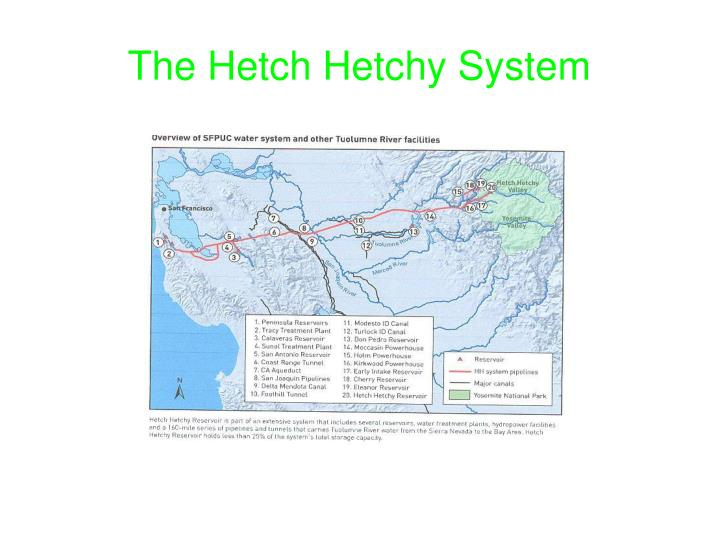 The hetch hetchy system