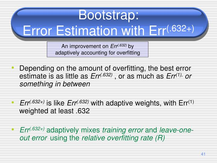 Bootstrap: