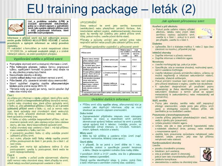 EU training package – leták (2)