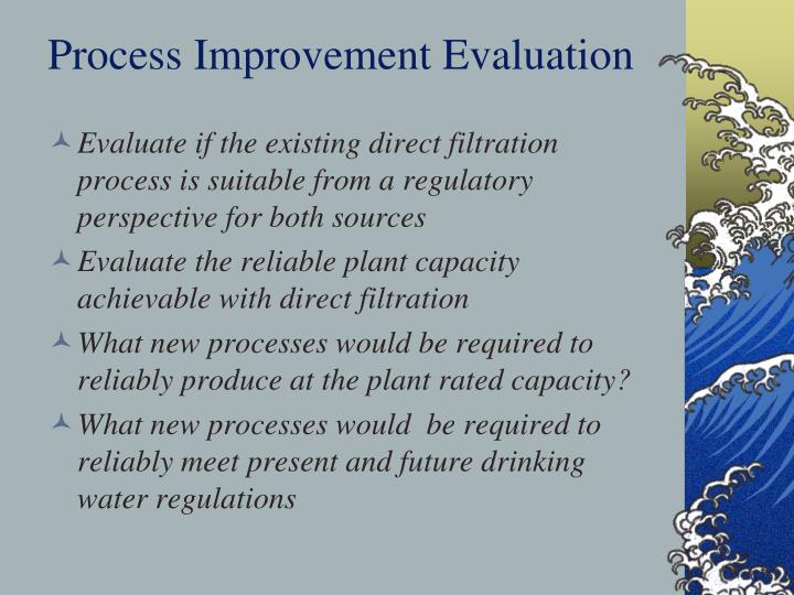 Process Improvement Evaluation
