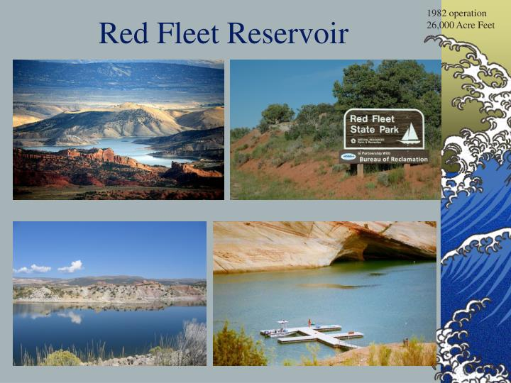 Red fleet reservoir