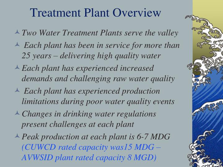 Treatment Plant Overview