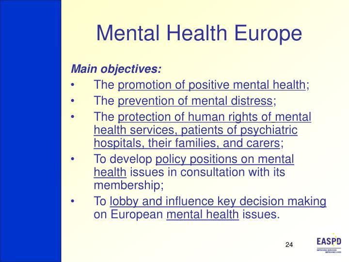 Mental Health Europe