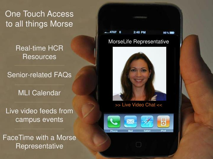 One Touch Access