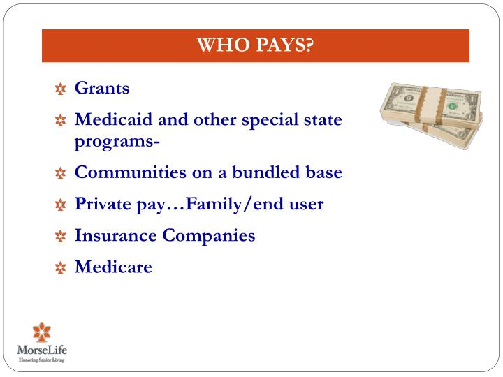 Who Pays?