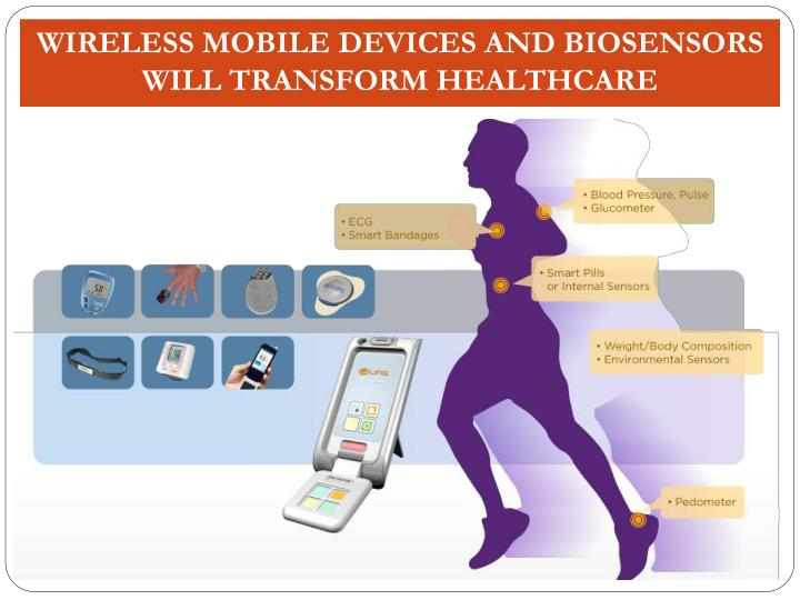 Wireless Mobile Devices and Biosensors