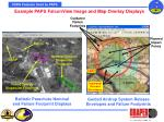 example paps falconview image and map overlay displays