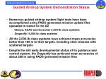 guided airdrop system demonstration status
