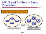 mpls and diffserv basic operation