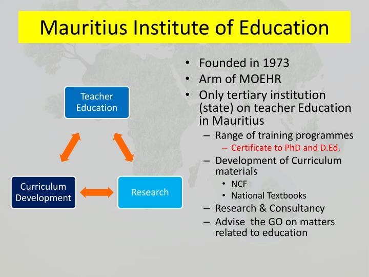 Mauritius institute of education