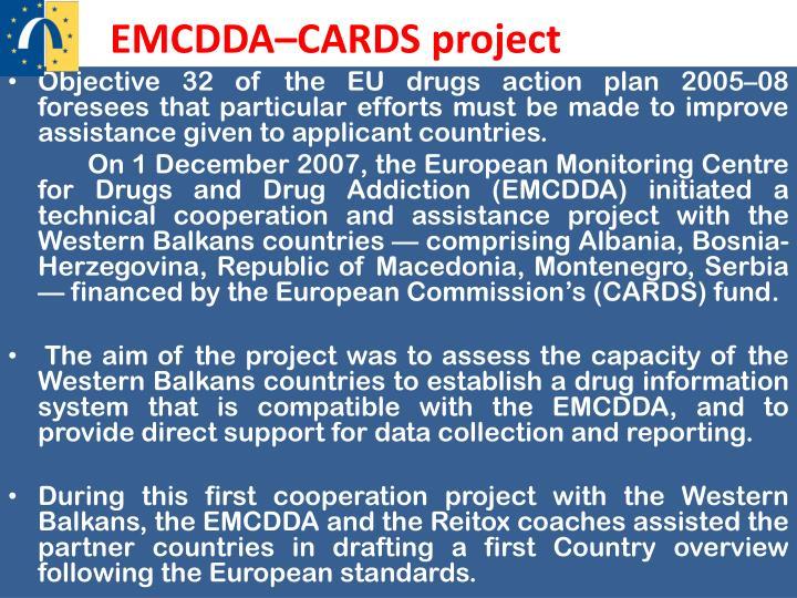 EMCDDA–CARDS project