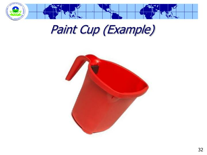 Paint Cup (Example)