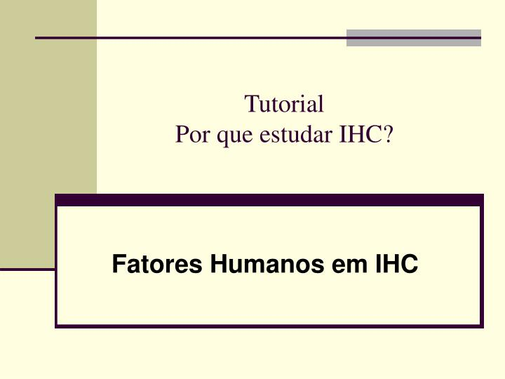 fatores humanos em ihc n.